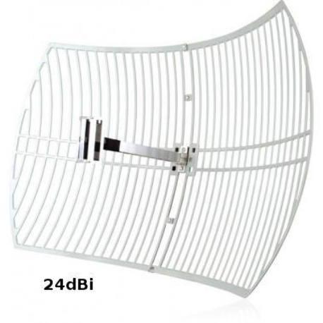 24 dBi Wifi Square Grid Parabolic Antenna