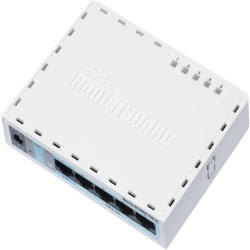 MikroTik Five Gigabit Port RouterBOARD RB750GL