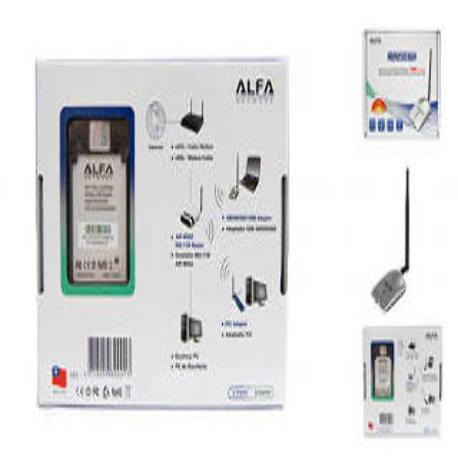 ALFA AWUS036H WLAN USB Adapter