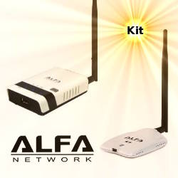 Alfa AWUS036NHR WLAN USB Adapter Alfa R36 3G Router