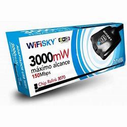 WifiSky 3000MW USB Adapter Omni 11dBi