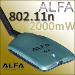 Long Range WLAN USB Adapter Alfa AWUS036NH