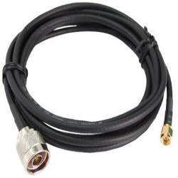 WiFi Cable n-male to r-sma female connectors 10m