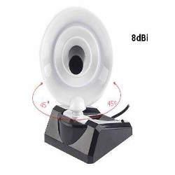 Wifi Mini Parabolic Antenna 8dBi Indoor