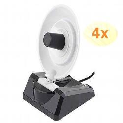 3 Wifi Mini Parabolic Antenna 8dBi 1 For FREE